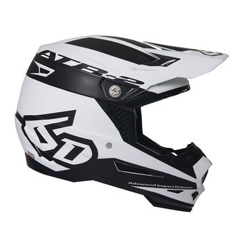 Casque cross 6D 2018 ATR-2 Sector - Blanc Noir