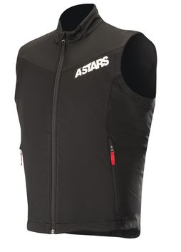 Body warmer Alpinestars Session Race - Noir Rouge
