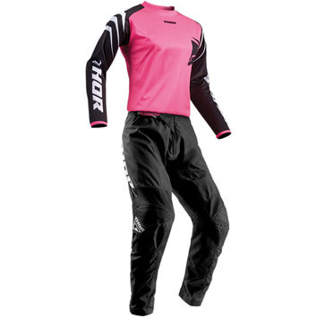 Tenue Cross Femme 2019 Thor Sector Zones - Noir Rose
