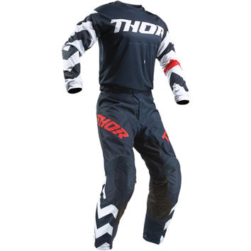 Tenue Cross Enfant 2019 Thor Pulse Stunner - Midnight Blanc