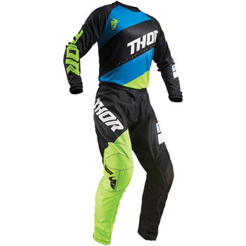 Tenue Cross Enfant 2019 Thor Sector Shear - Noir Jaune