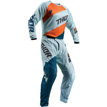 Tenue Cross Enfant 2019 Thor Sector Shear - Sky Bleu Orange