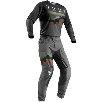 Tenue Cross 2019 Thor Prime Pro Fighter - Gris Camo