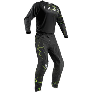 Tenue Cross 2019 Thor Prime Pro Infection - Noir Jaune