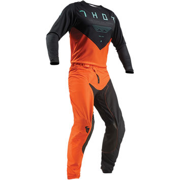 Tenue Cross 2019 Thor Prime Pro Jet - Noir Orange