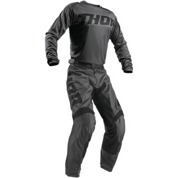Tenue Cross 2019 Thor Pulse Smoke - Gris