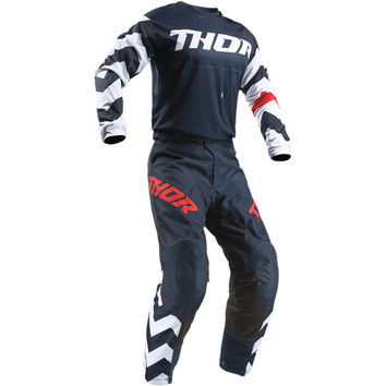 Tenue Cross 2019 Thor Pulse Stunner - Midnight Blanc