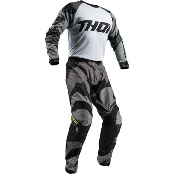 Tenue Cross 2019 Thor Sector Camo - Gris