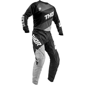 Tenue Cross 2019 Thor Sector Shear - Noir Gris