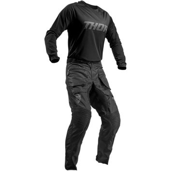 Tenue Cross 2019 Thor Terrain - Noir