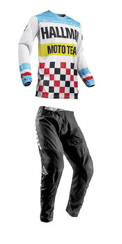 Tenue Cross 2019 Thor Hallman Pulse Heater - Blanc Bleu
