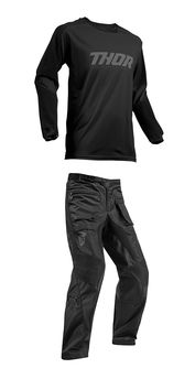 Tenue Cross 2019 Thor Terrain OTB - Noir