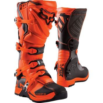 Bottes cross enfant Fox 2019 Comp 5 - Orange