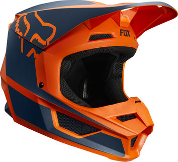 Casque cross enfant Fox 2019 V1 Przm - Orange