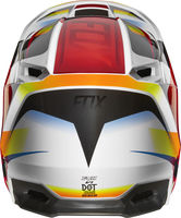 Casque cross enfant Fox 2019 V1 Motif - Rouge Blanc