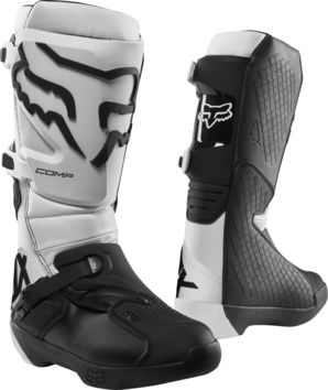 Bottes cross Fox 2019 Comp - Blanc