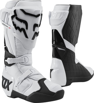 Bottes cross Fox Comp R - Blanc