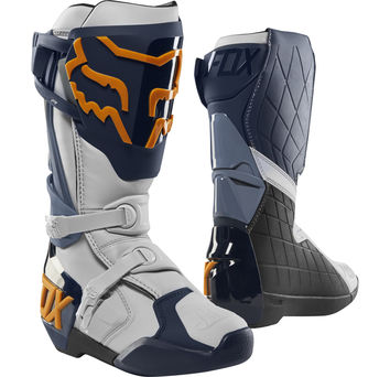 Bottes cross Fox 2019 Comp R - Bleu Orange