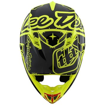 Visière Casque Cross Enfant Troy Lee Designs Factory Jaune