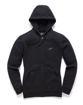 Sweat Shirt zippé Femme Alpinestars 2019 Effortless - Noir