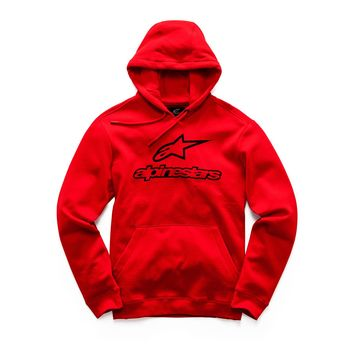 Sweat Shirt Alpinestars 2019 Always II - Rouge Noir