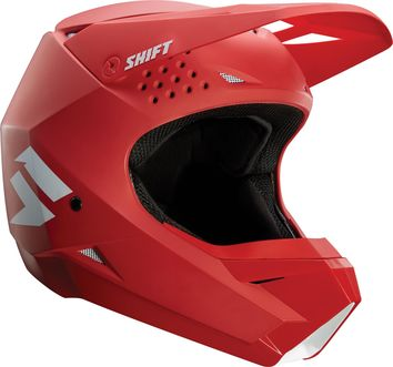 Casque cross Shift White Label - Rouge