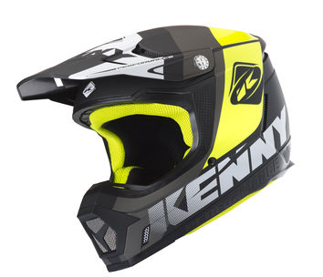 Casque cross Kenny 2019 Performance - Gris