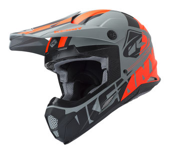 Casque cross Kenny 2019 Track - Gris