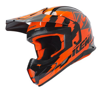 Casque cross Kenny 2019 Track - Orange