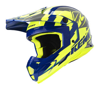 Casque cross Kenny 2019 Track - Jaune Fluo