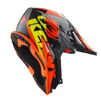 Casque cross enfant Kenny 2019 Track - Noir Orange