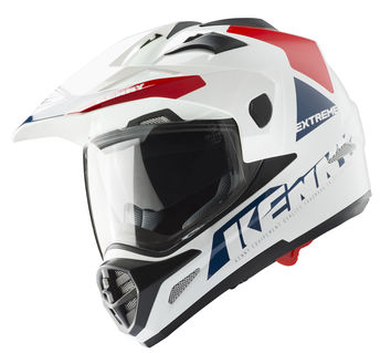 Casque cross Kenny 2019 Extreme - Blanc