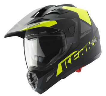 Casque cross Kenny Extreme - Jaune Fluo