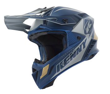 Casque cross Kenny 2019 Trophy - Bleu Or