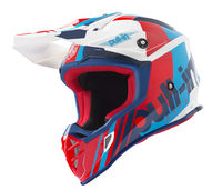 Casque cross Pull-In by Kenny 2019 Race - Bleu Rouge