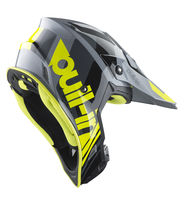 Casque cross Pull-In by Kenny 2019 Race - Gris Jaune Fluo