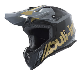 Casque cross Pull-In by Kenny 2019 Race - Gris Or