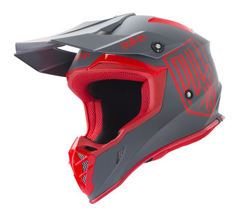 Casque cross Pull-In by Kenny 2019 Solid - Rouge