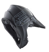 Casque cross Pull-In by Kenny 2019 Solid - Noir 53/54 - XS