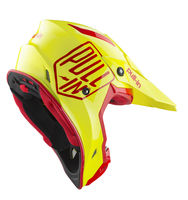 Casque cross Pull-In by Kenny 2019 Solid - Jaune Fluo