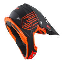 Casque cross enfant Pull-In by Kenny 2019 Solid - Orange Fluo 47/48 - S