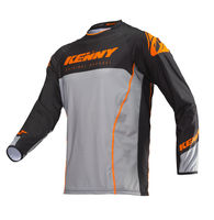 Maillot cross Kenny 2019 Titanium - Orange Gris