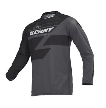 Maillot cross Kenny 2019 Track - Noir Gris