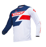 Maillot cross Kenny 2019 Track - Bleu Rouge