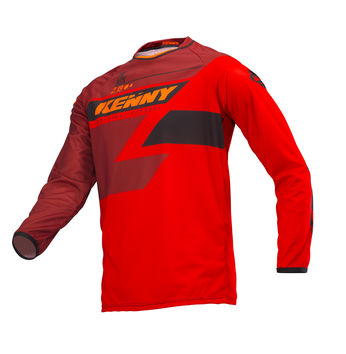 Maillot cross enfant Kenny 2019 Track - Rouge