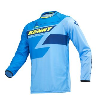Maillot cross enfant Kenny 2019 Track - Bleu