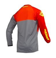 Maillot cross enfant Kenny 2019 Track - Orange Gris Jaune Fluo