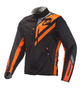 Veste Enduro Kenny 2019 Softshell - Noir Orange Fluo