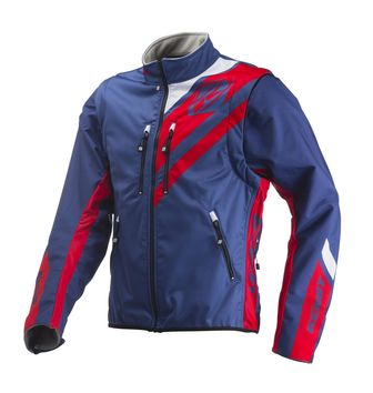 Veste Enduro Kenny 2019 Softshell - Bleu Rouge
