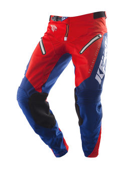 Pantalon cross Kenny 2019 Titanium - Rouge Bleu